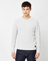 Only And Sons Dan Knitted Crew Neck Jumper Cream