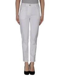 Clips More Casual Pants White