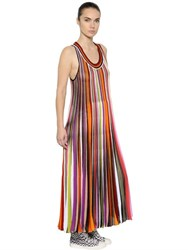 Missoni Striped Viscose Knit Dress
