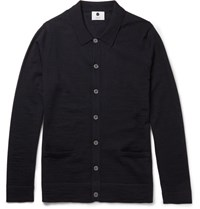 Nn.07 Nn07 Griffin Wool Cardigan Navy
