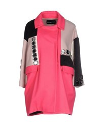 Marco Bologna Coats And Jackets Coats Women Fuchsia