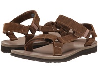 Teva Original Universal Leather Diamond Toasted Coconut Women's Sandals Brown