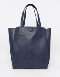 Warehouse Slouch Tote Bag Navy