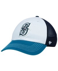 '47 Brand Seattle Mariners Privateer Closer Cap Navy White Teal