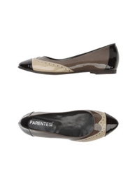 Parentesi Ballet Flats Dark Green