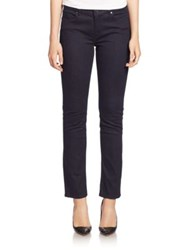 Elie Tahari Kiana Straight Leg Jeans Dark Night