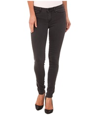 Calvin Klein Jeans Demin Leggings In Washed Down Grey Washed Down Grey Women's Jeans Brown