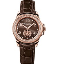 Thomas Sabo Glam And Soul Brown And Rose Three Hand Watch