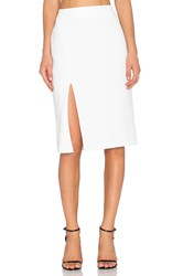 Wayf Pencil Skirt White
