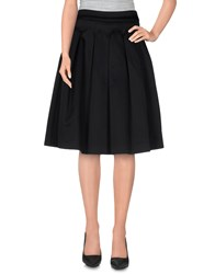 Messagerie Skirts Knee Length Skirts Women Black