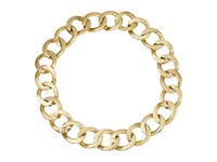 House Of Harlow The Ra Hammered Chain Necklace Gold Necklace