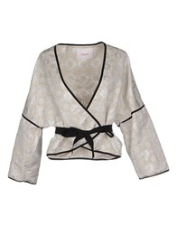 Jucca Suits And Jackets Blazers Women Beige