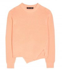 Proenza Schouler Wool Cotton And Cashmere Sweater Orange