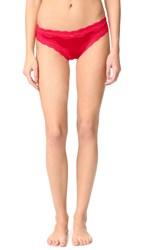 Stella Mccartney Clara Whispering Thong Tango Red