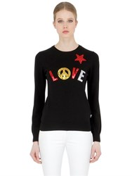 Love Moschino Wool Blend Knit Sweater
