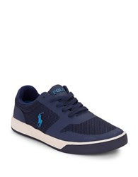 Polo Ralph Lauren Hellidon Sports Mesh Sneakers Navy