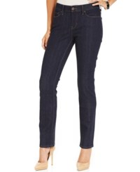 Levi's 525 Perfect Waist Straight Leg Jeans Darkest Ace