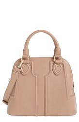 Sole Society Dome Satchel Beige Taupe