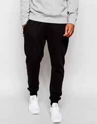New Look Joggers With Zip Detailing Black