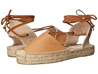 Soludos Platform Gladiator Sandal Leather Tan Women's Sandals