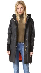 Smythe Dark And Stormy Anorak Black