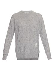 Barrie Big Ego Cashmere Knit Sweater