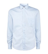 Boss Orange Eslimye Slim Fit Shirt Male Blue