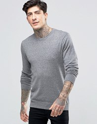 Scotch And Soda Jumper With Crew Neck Cotton In Grey Grey