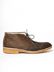 Ymc Desert Boot Houndstooth At Gargyle