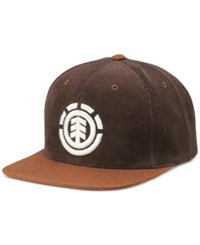 Element Men's Hat Knutsen Snapback Cap Eap Coffee