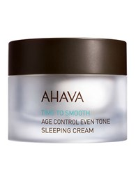 Ahava Age Control Even Tone Sleeping Cream 1.7Oz No Color