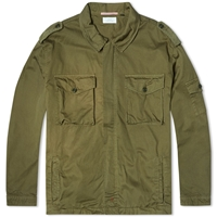 Apolis Archive Utility Zip Jacket Olive