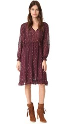 Ulla Johnson Myna Dress Bordeaux