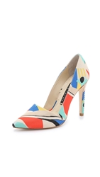 Alice Olivia Colorblock Makayla Pumps Multi
