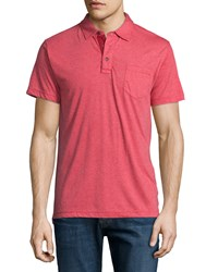 Jachs Sofblend Short Sleeve Polo Shirt Red