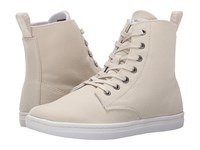 Dr. Martens Hackney 7 Eye Boot Ivory Canvas Women's Lace Up Boots Bone