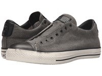 Converse Chuck Taylor All Star Burnished Canvas Beluga Black Turtledove Slip On Shoes Pewter