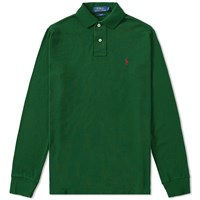 Polo Ralph Lauren Long Sleeve Slim Fit Green