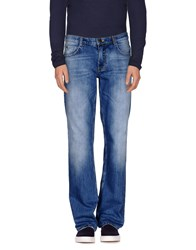 Frankie Morello Denim Denim Trousers Men Blue
