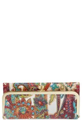 Hobo Women's 'Rachel' Frame Wallet Blue