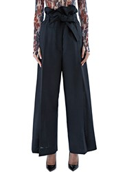 Marni High Waisted Wide Leg Pants Black