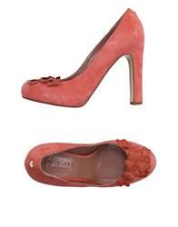 Twin Set Simona Barbieri Footwear Courts Women Coral