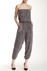 Sweet Pea Strapless Jumpsuit Multi