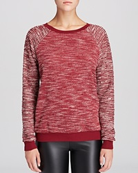 Kut From The Kloth Chantel Zip Sweater Dark Cherry
