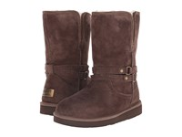 Ugg Palisade Chocolate Suede Women's Boots Brown