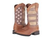 Durango Mustang 12 Faded Glory Brown Cowboy Boots