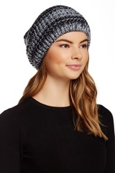 Michael Stars Shimmer Ombre Slouch Knit Black