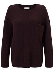 Harris Wilson Tera Wool Blend Jumper Mure