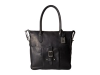 Frye Parker Tote Black Antique Pull Up Tote Handbags