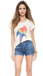 Wildfox Couture Pretty Bird Easy Tee Vintage Lace